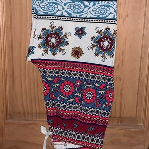 NWT M LLR Floral Printed Jax Jogger Pants